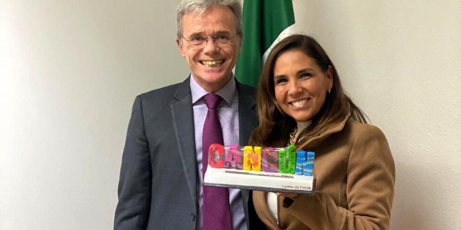 Cancún logra acciones de promoción con embajada de México en España