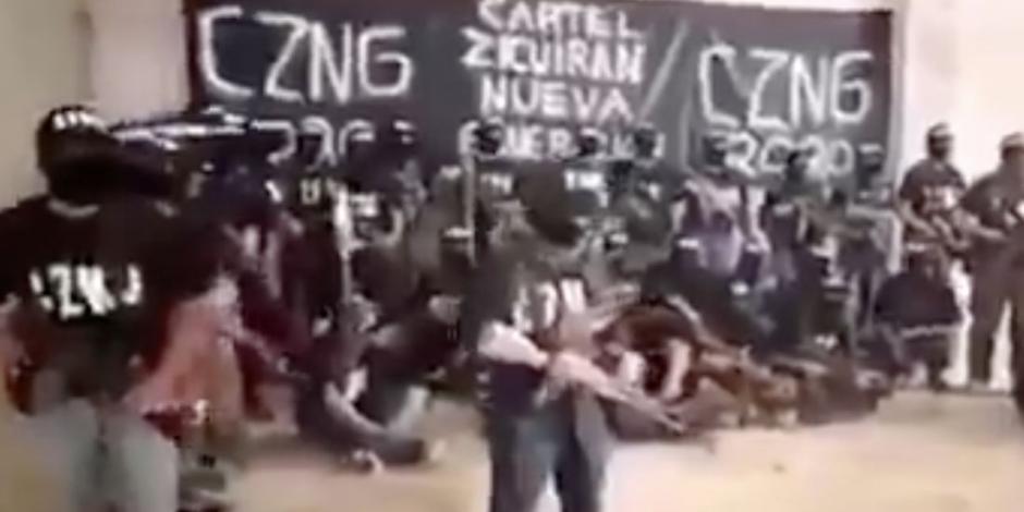 Presunto grupo delictivo advierte a Ejército no invadir territorio michoacano; anuncian alianza con CJNG