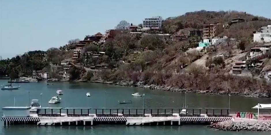 Muelle de Zihuatanejo, obra anhelada para recibir a visitantes
