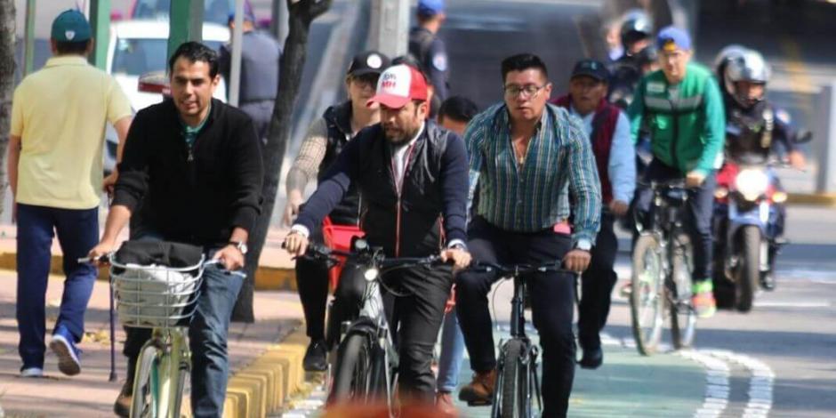 Amplía Miguel Hidalgo red de ciclovías y fomenta el transporte verde