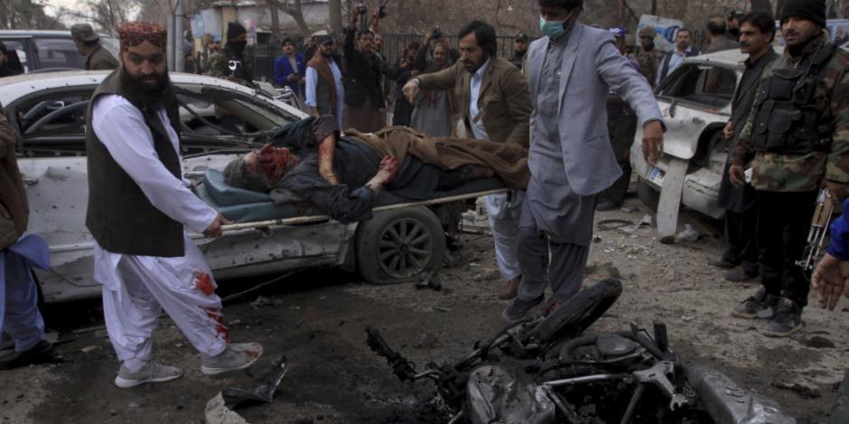 Ocho muertos y 16 heridos deja un ataque suicida en Pakistán