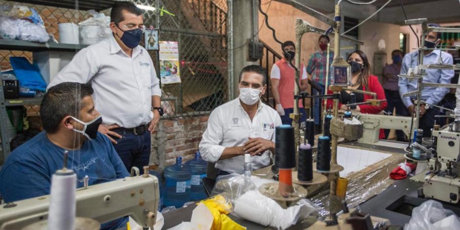 Alivian créditos en Michoacán a empresas