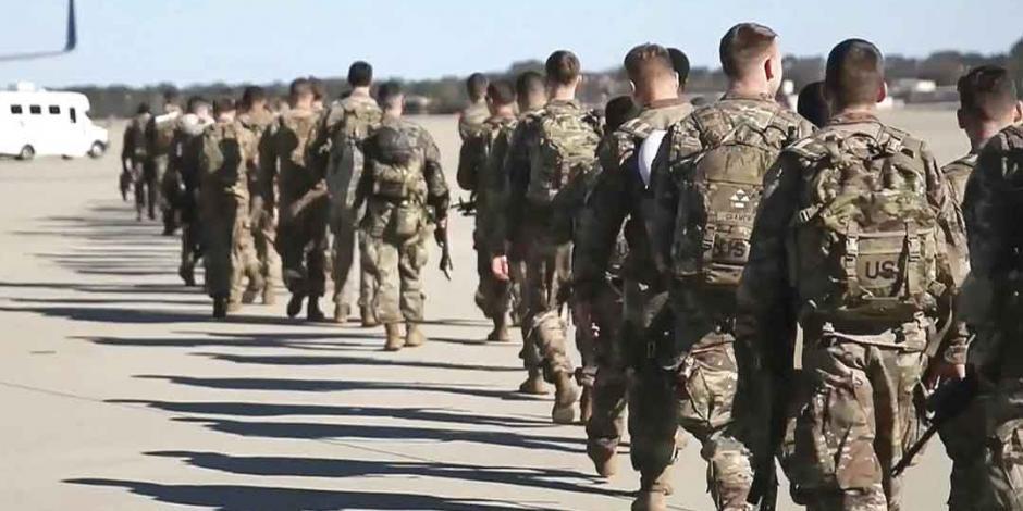 Irán orilla a las tropas de EU a iniciar retirada
