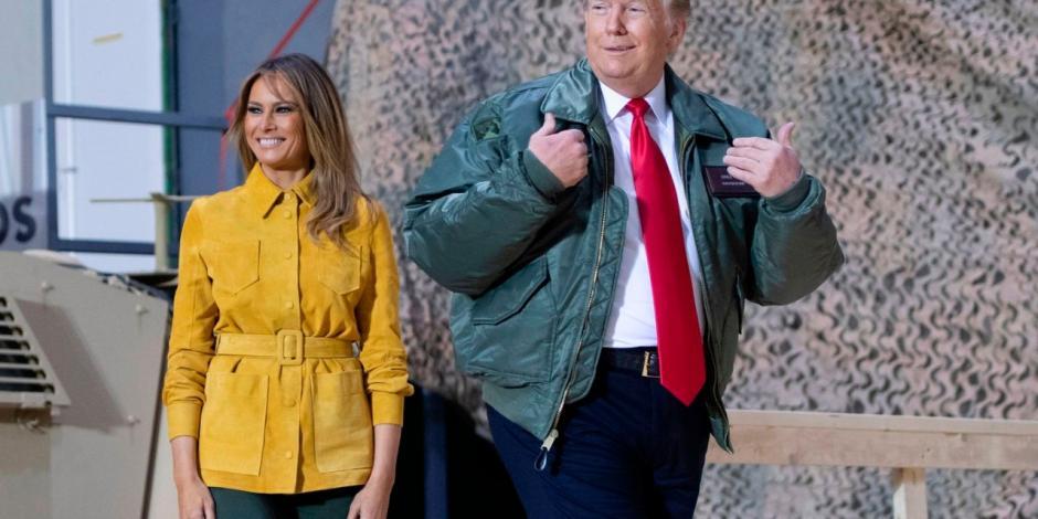 Base estadounidense bombardeada por Irán, la misma que visitó Trump en 2018