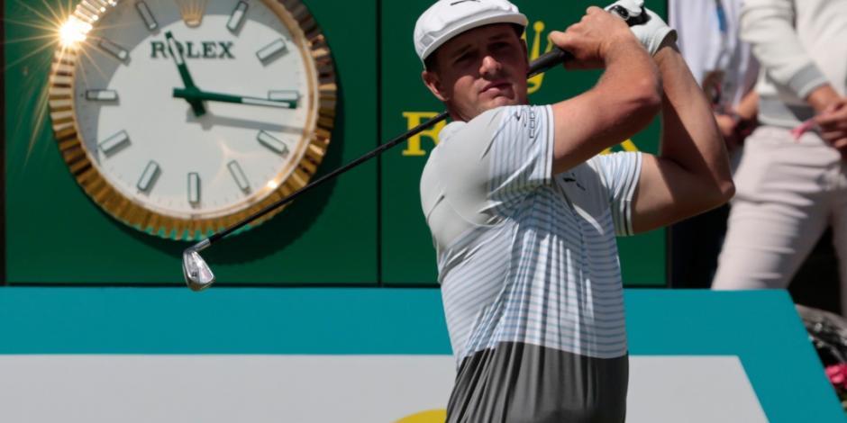 Bryson DeChambeau es el nuevo puntero en el Club de Golf Chapultepec