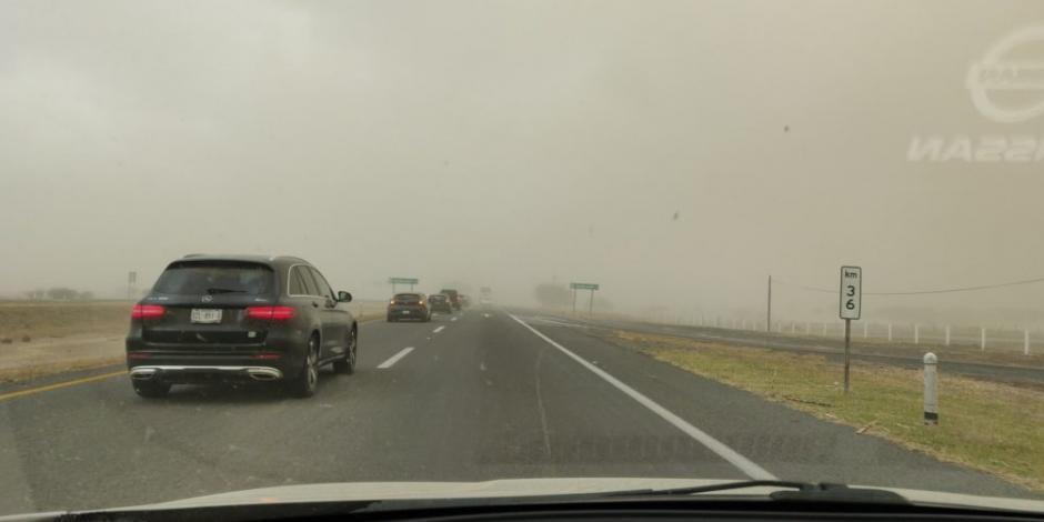 Intensas tolvaneras obligan a cerrar autopista Guadalajara-Colima (FOTOS)