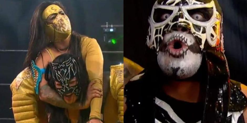 Lady Shani y Pentagón Jr. se coronan en Lucha Fighter AAA Live (VIDEO)