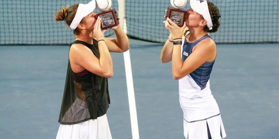 Giuliana Olmos gana histórico título de dobles en Acapulco