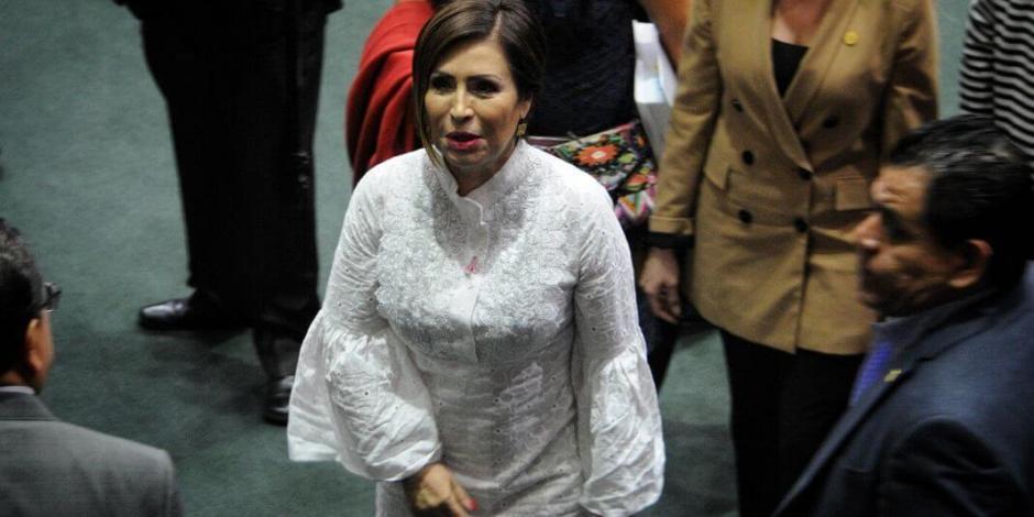 Suspenden inhabilitación del servicio público contra Rosario Robles