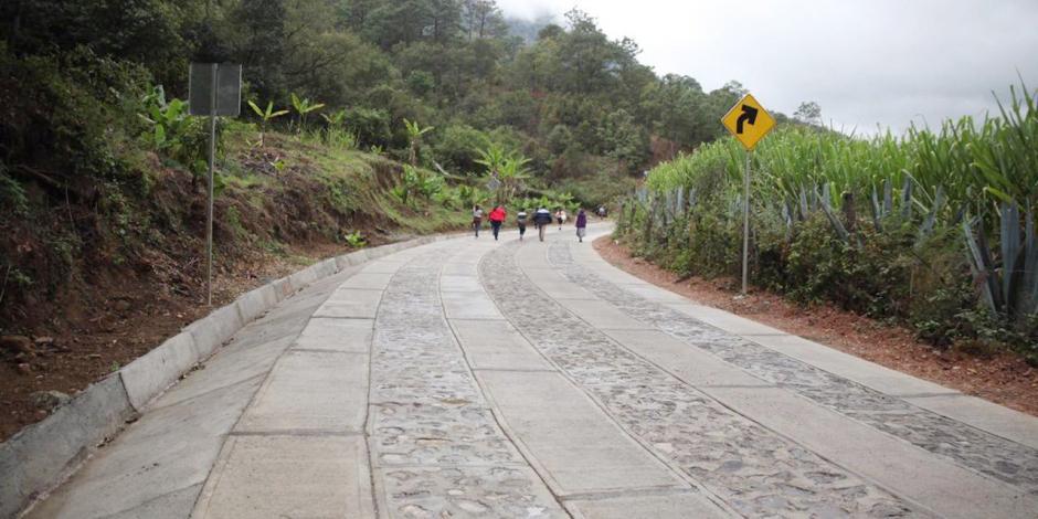 Xagacía, el pueblo de Oaxaca que regresó a AMLO ahorro tras hacer camino