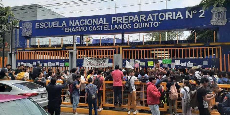 Reanudan clases en Prepa 2 tras paro de 72 horas