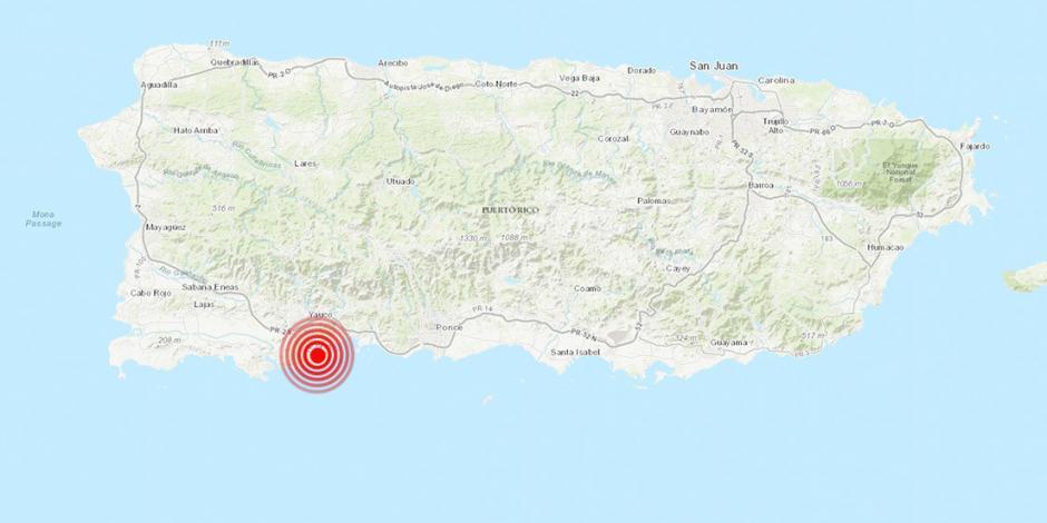 Fuerte sismo de 6 grados sacude a Puerto Rico; suman 34 en 24 horas