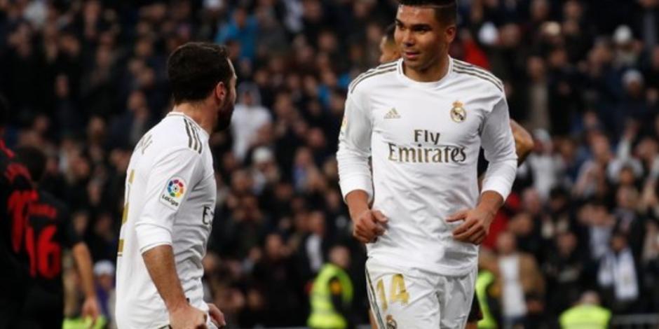 Con doblete de Casemiro, Real Madrid derrota a Sevilla