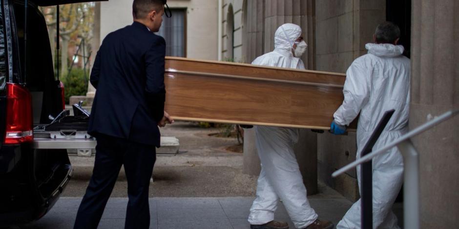 Supera España los 100 mil casos de COVID-19