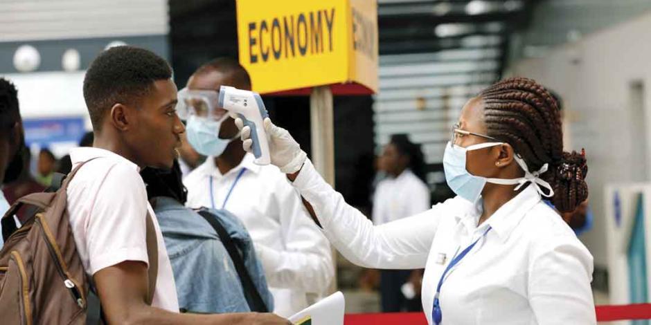 Alertan riesgo alto de coronavirus en África