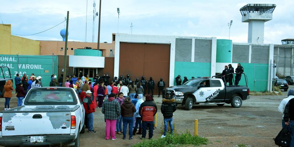 Nueva riña en penal de Zacatecas deja un muerto y 5 heridos