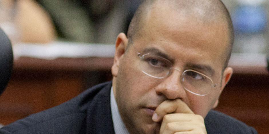 Ruiz Saldaña, único en INE que pide dar datos