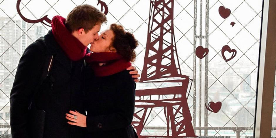 ¿Quieres declarar tu amor el 14 de febrero? En la Torre Eiffel puedes hacerlo