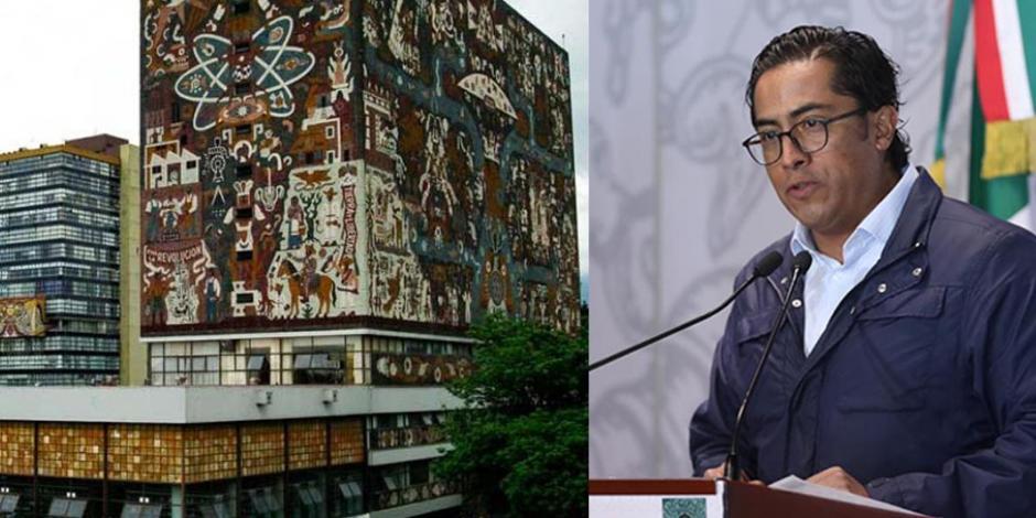 Desobedece diputado morenista a bancada e insiste en amago contra UNAM