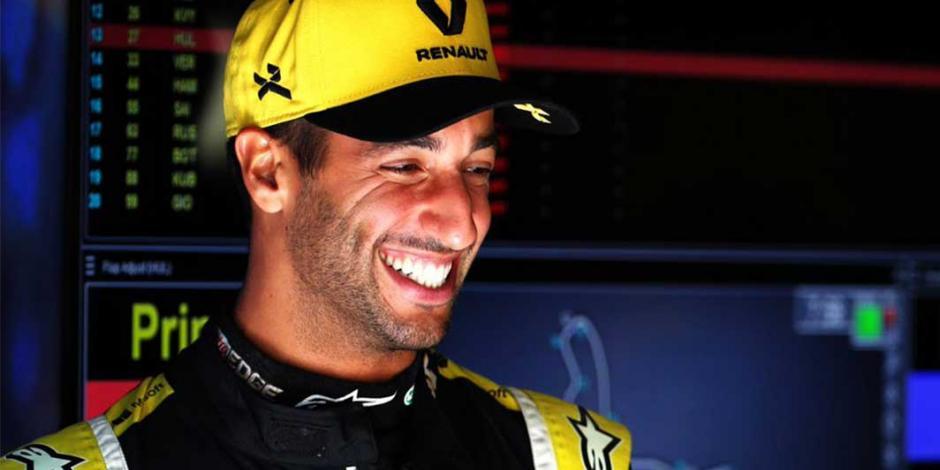 McLaren anuncia llegada de Ricciardo, tras salida de Sainz a Ferrari