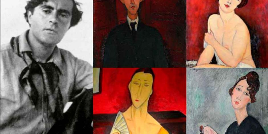Exposición de Amedeo Modigliani llega a Bellas Artes