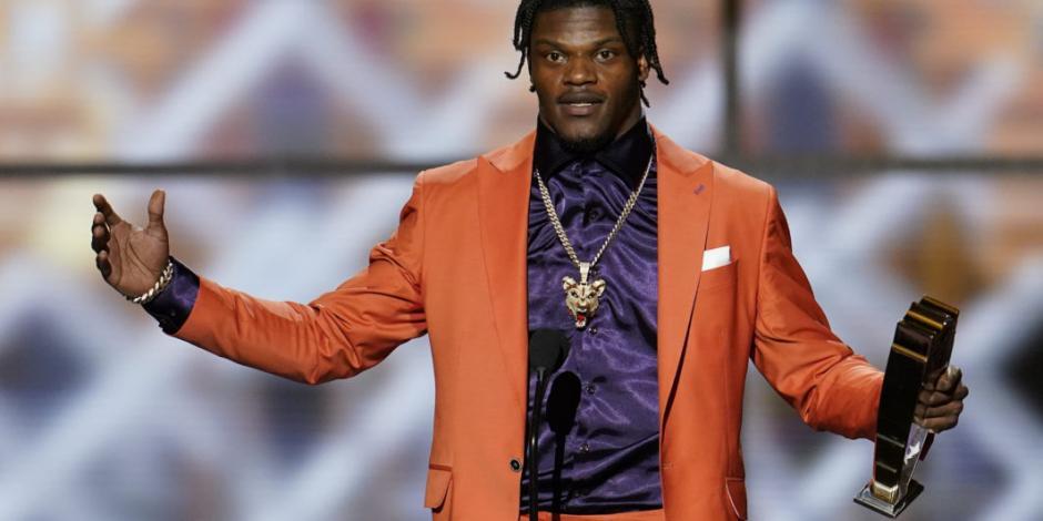 NFL elige unánimemente a Lamar Jackson como MVP de la temporada