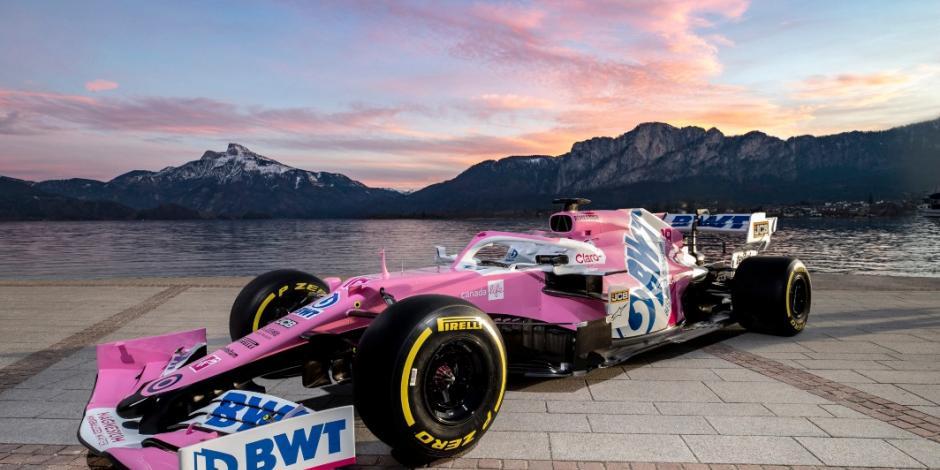 BWT Racing Point presenta el nuevo monoplaza de Checo Pérez
