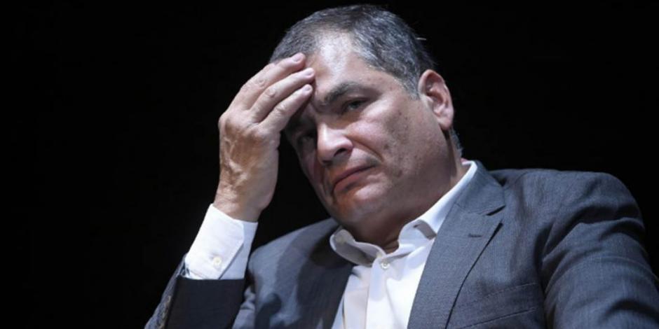 Fiscalía pide 8 años de cárcel para expresidente de Ecuador, Rafael Correa