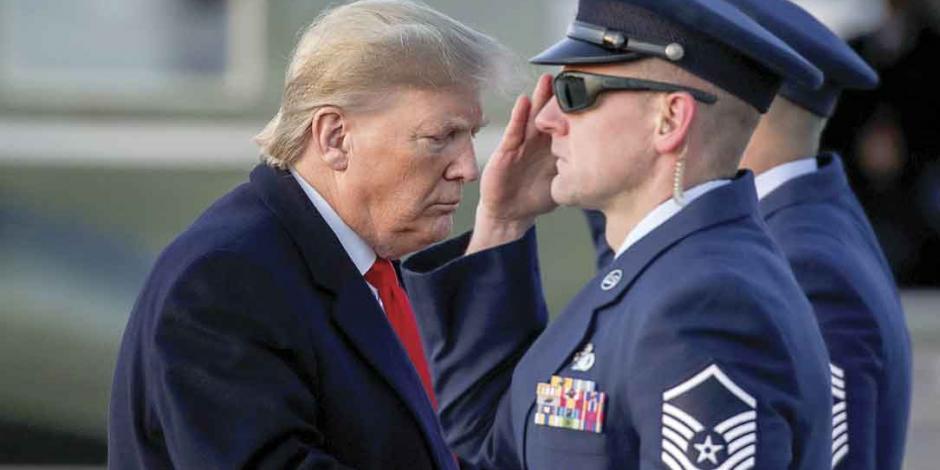 Resolución legislativa limita a Trump para activar la guerra