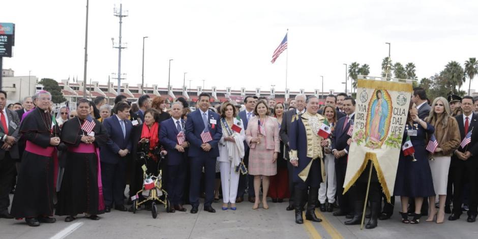 Refrendan gobernador de Tamaulipas y Nancy Pelosi lazos de fraternidad de México y EU