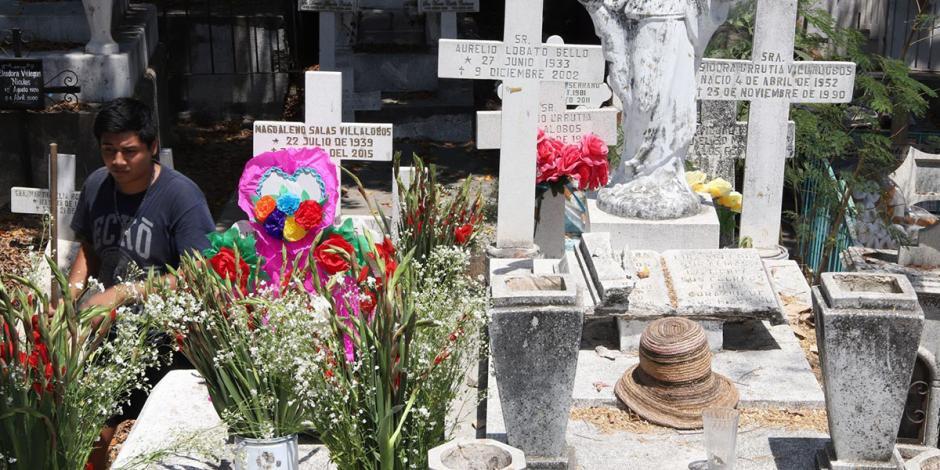 Cementerios en Apatzingán, sólo para cremación por Día de las Madres