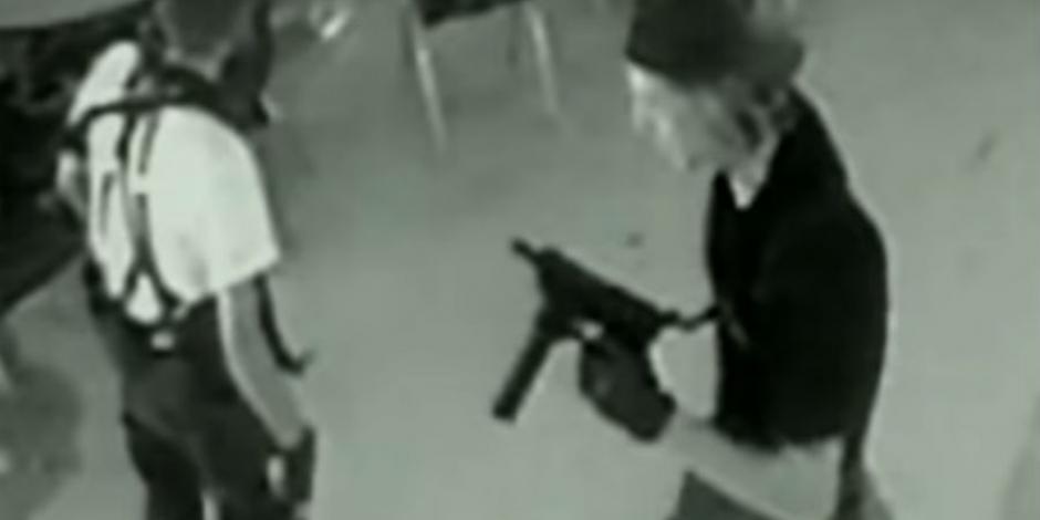 Alumno de colegio de Torreón se vistió como tirador de Columbine