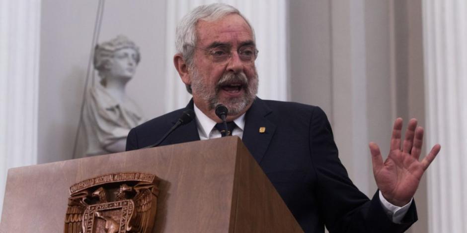 Llama Enrique Graue a respetar voluntad de mayorías