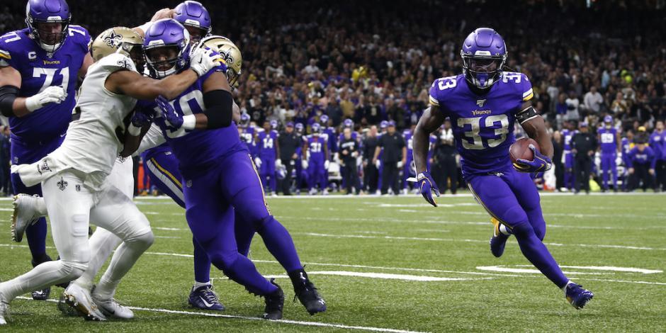 Vikings derrota en tiempo extra a Saints y clasifica a ronda divisional