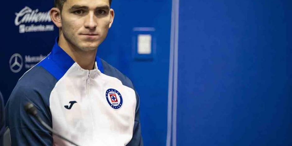 Sebastián Jurado tiene claros sus objetivos y reconoce su amor a Cruz Azul