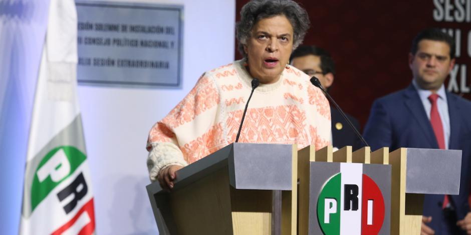 Propone PRI establecer segunda vuelta presidencial