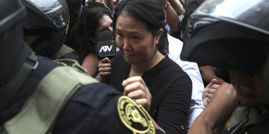 Vuelve Keiko Fujimori a la cárcel; le dan otros 15 meses de prisión