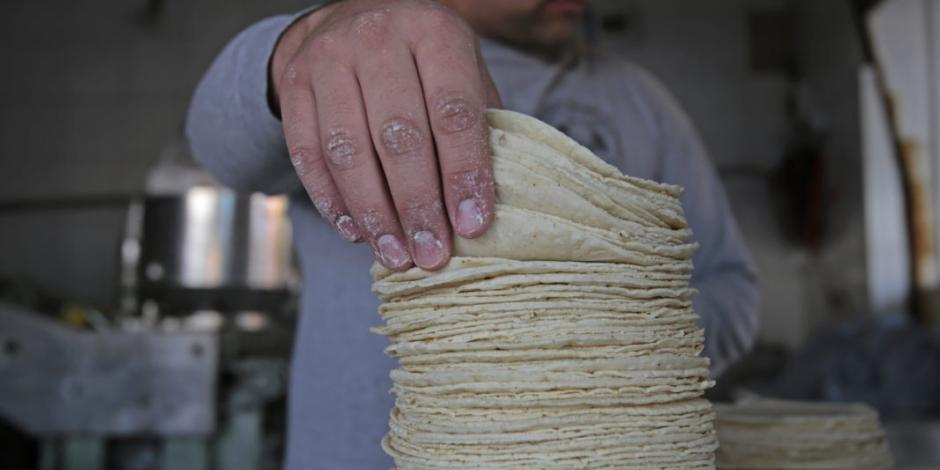 Precio de tortilla debe ser de $15.5 por kilo,