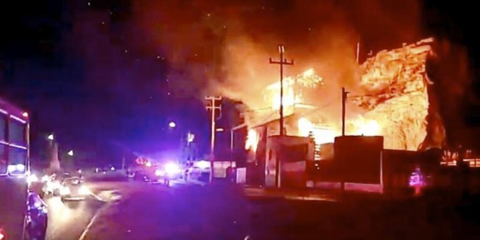 Daña incendio histórico Molino de La Pedrera en Toluca