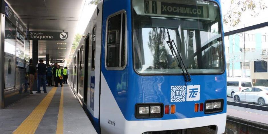 Sobrecarga eléctrica causó retrasos en el Tren Ligero