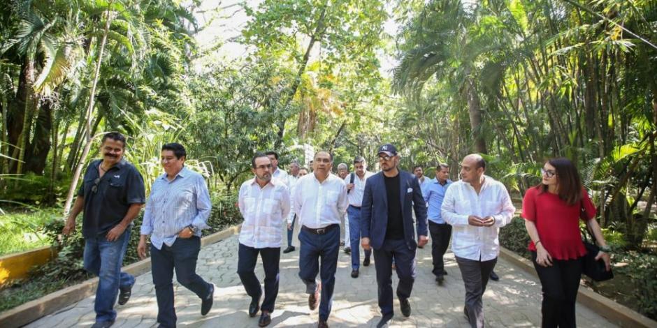 Astudillo arranca remodelación del parque Papagayo, pulmón de Acapulco