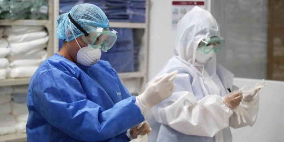 Concentra personal de salud 18% de contagios