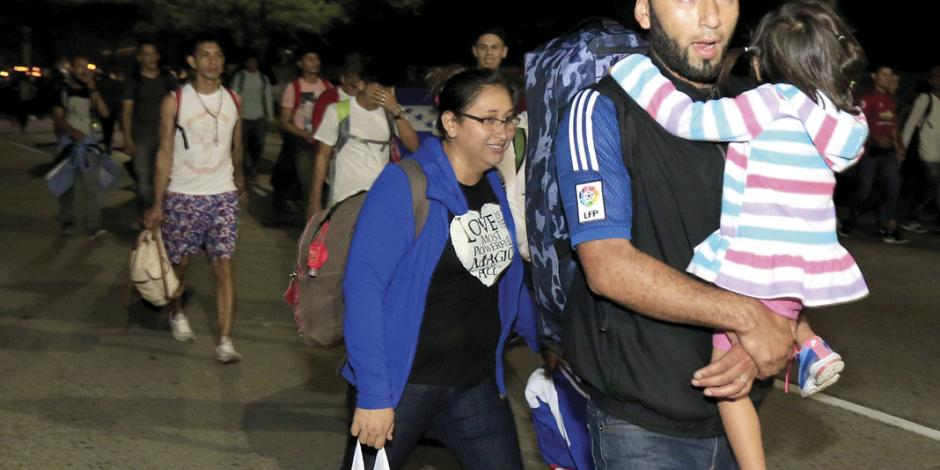 Nueva caravana da portazo en Guatemala; México alista contención