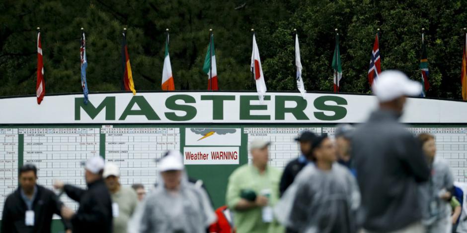 El Masters de Augusta también se aplaza por Covid-19