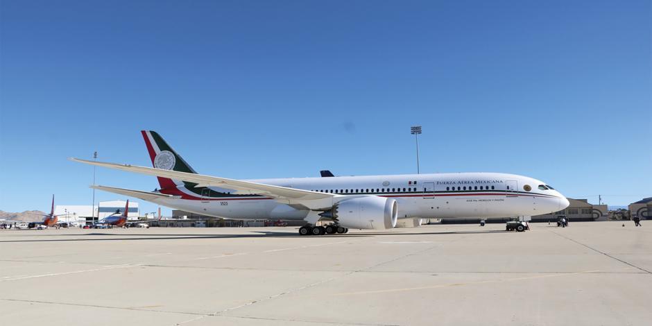 Avión presidencial se vende, se renta o se rifa: AMLO