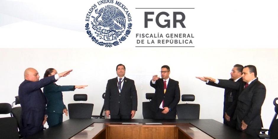 Policía Federal Ministerial elige a Kayosci Guerrero como titular