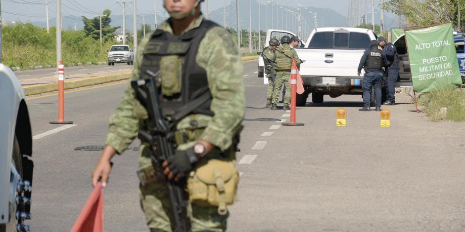 """""""Es el comienzo para la militarización del país"""""""