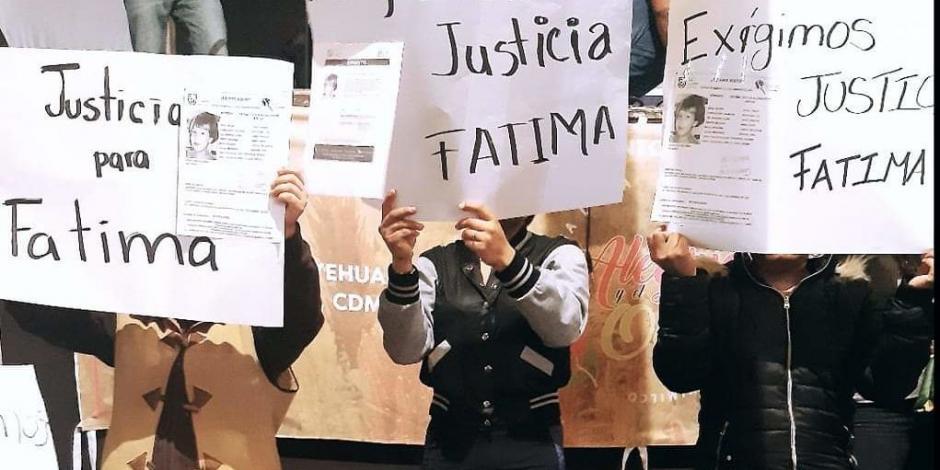 Alistan recomendación en Derechos Humanos capitalina por caso Fátima