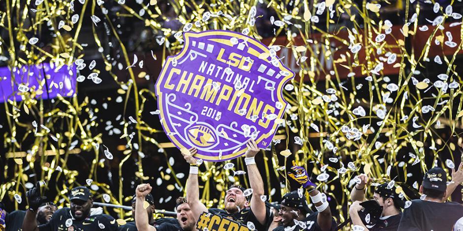 Burrow y LSU se coronan con victoria sobre Clemson