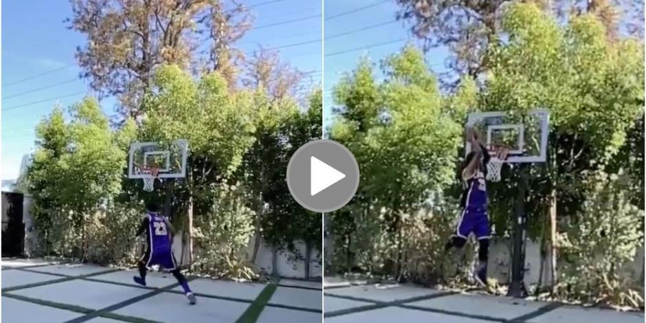Carlos Vela enciende las redes con tremenda clavada al estilo LeBron James (VIDEO)